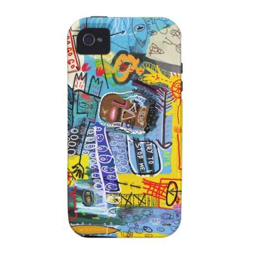 graffiti vibe iPhone 4 case