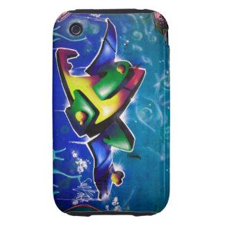 Graffiti iPhone 3 Tough Cover