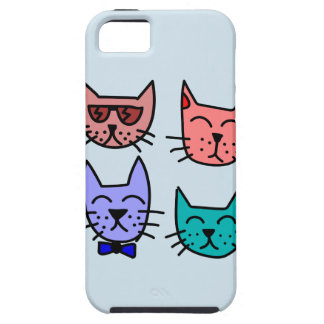 Graffiti cats iphone case