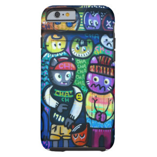 Graffiti Cats Tough iPhone 6 Case