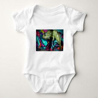Graffiti Chameleon Baby Bodysuit