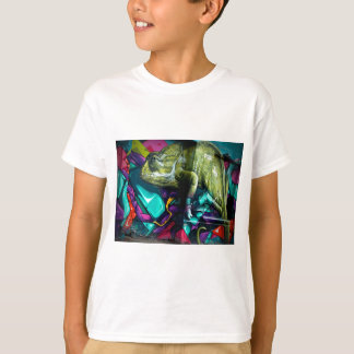 Graffiti Chameleon T-Shirt