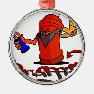 Graffiti Christmas Ornament