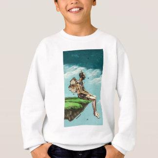 Graffiti cliff edge sweatshirt