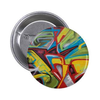 Graffiti Closeup 6 Cm Round Badge