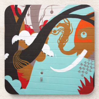 Graffiti Coaster