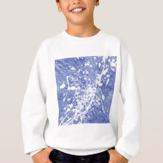 Graffiti Colour Paint Splash in Purple Sweatshirt