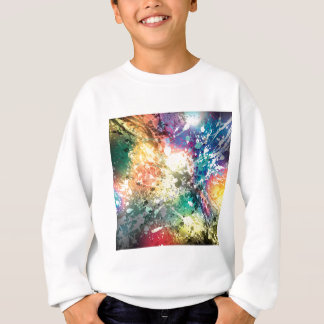 Graffiti Colour Paint Splash Sweatshirt