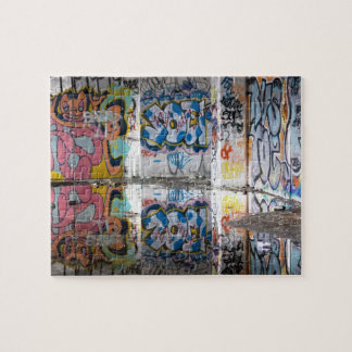 Graffiti Corner Jigsaw Puzzle