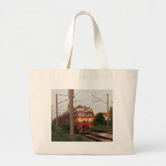 Graffiti Covered Train Canvas Bags