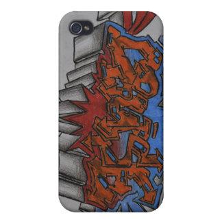Graffiti Cruise Case For iPhone 4