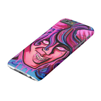Graffiti Demon Girl iphone Case Barely There iPhone 6 Case