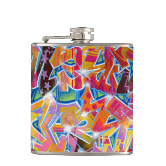 Graffiti Design Flask