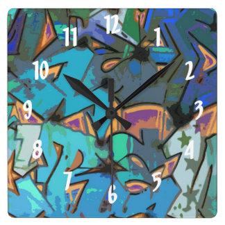Graffiti Design Wall Clock