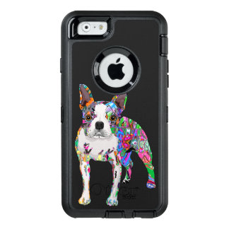 Graffiti dog OtterBox defender iPhone case
