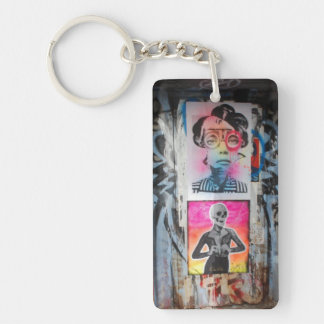 Graffiti Door 4 Keychain