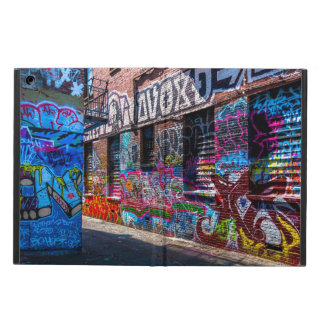 Graffiti-ed Buildings Design iPad Air Case