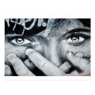Graffiti Eye Post Card
