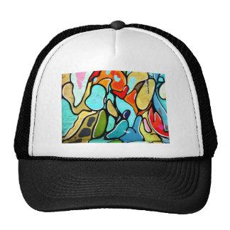 graffiti fashion cap