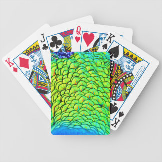 Graffiti Feathers Bicycle Playing Cards