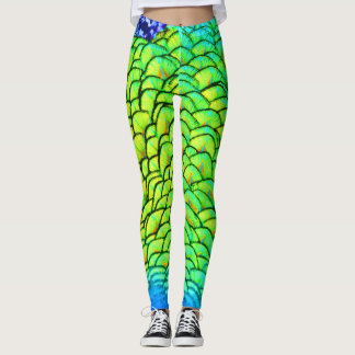 Graffiti Feathers Leggings