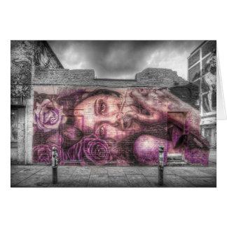 Graffiti Girl, Shoreditch London Cards