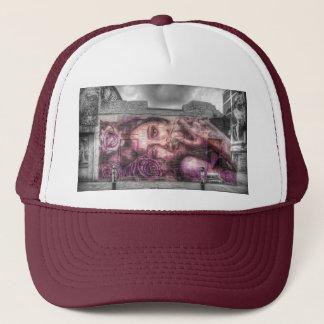 Graffiti Girl, Shoreditch London Trucker Hat