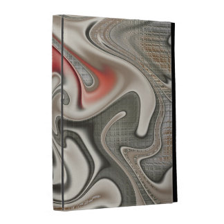Graffiti Gnarly Fractal iPad Case