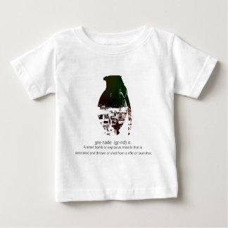 Graffiti Grenade Baby T-Shirt