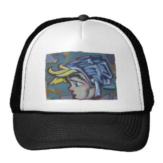 Graffiti Mesh Hats