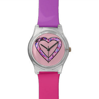 Graffiti Heart (wink) Watch