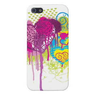 Graffiti Hearts iPhone 5/5S Cases