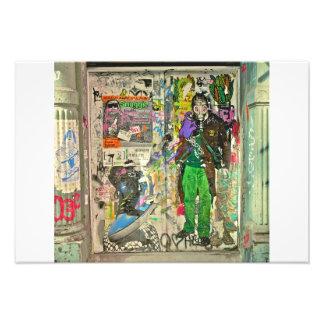Graffiti in SOHO NYC Art Photo