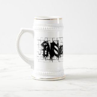 Graffiti Insomniacs Collage Beer Stein