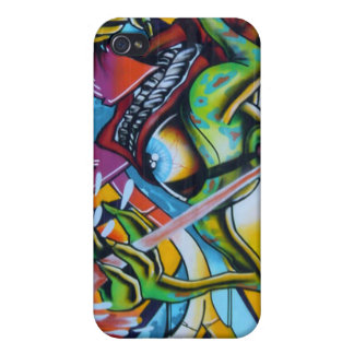 Graffiti iPhone 4 Cover