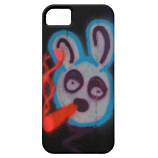 Graffiti iPhone 5 rabbit bunny barely there case iPhone 5 Cases