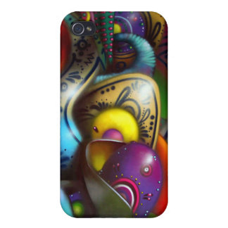 Graffiti Cover For iPhone 4