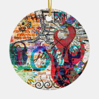 Graffiti Justice Christmas Ornament