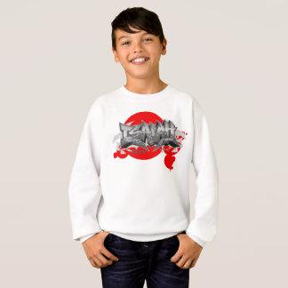 Graffiti Kids Hoodie: Isaiah Streetwear Sweatshirt