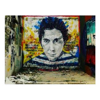 Graffiti kind, Alicante - postcard