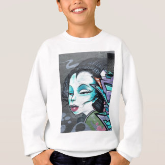 Graffiti lady sweatshirt