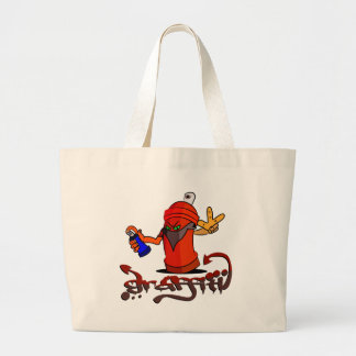 Graffiti Large Tote Bag