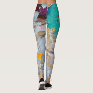 Graffiti Leggins Colorful and Trendy Leggings