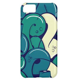 Graffiti letters - green iPhone 5C case