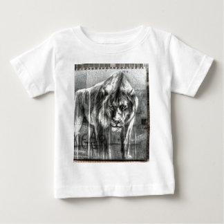 Graffiti Lion, Shoreditch London Baby T-Shirt