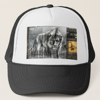 Graffiti Lion, Shoreditch London Trucker Hat