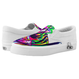 Graffiti loafer Slip-On shoes