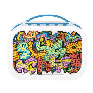 Graffiti lunchbox