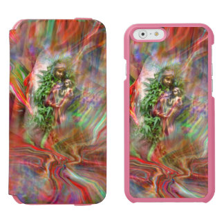 Graffiti Madonna Case Incipio Watson™ iPhone 6 Wallet Case