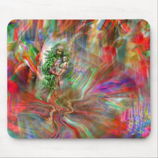 Graffiti Madonna Mousepad